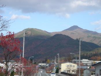 甑岳の風景