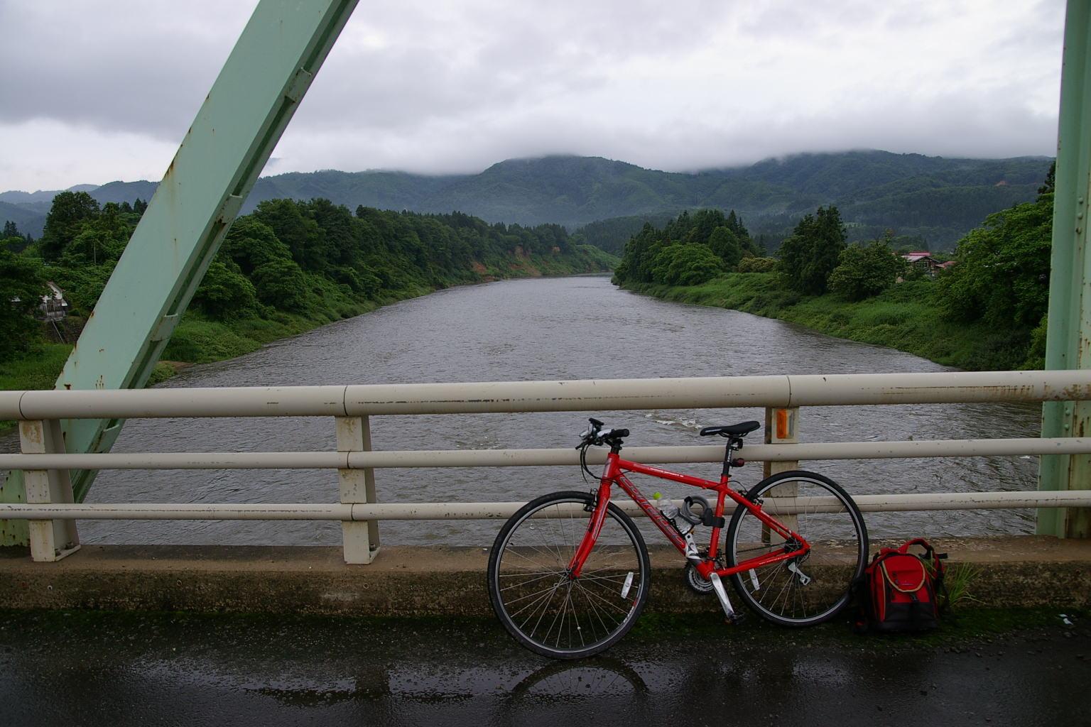 最上川 「三ヶ瀬の流れ」