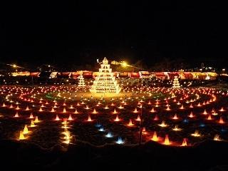 米沢上杉雪灯篭祭り