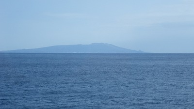 I伊豆大島が眺められました。