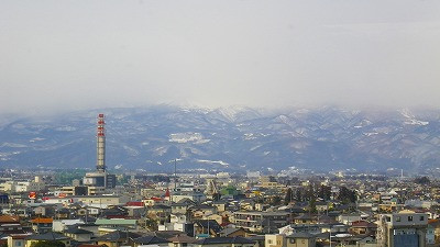 山形新幹線つばさからの車窓