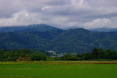 葉山の眺めです。