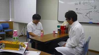 佐久間会長と独歩顆粒の症例トレーニングをしました。