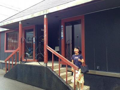 酒田市のギャラリー&喫茶 ヴィヨンさんに妻と一緒に展覧会に行きました。<br />