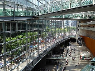 東京国際フォーラムの会場の風景