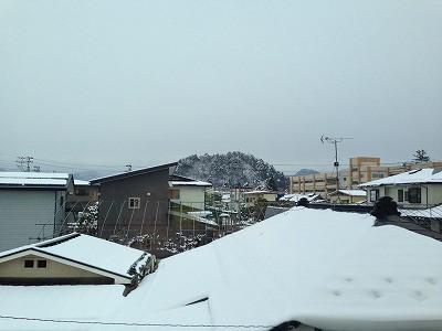 若木山 冬の鉛色の空、コンクリートスカイ