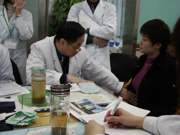 不妊症の漢方研修、南京