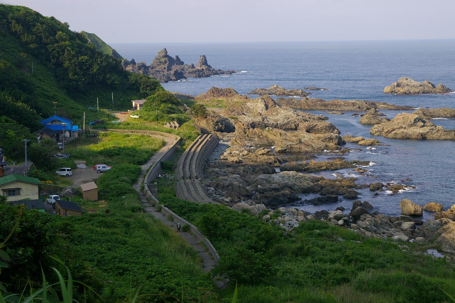 青森県木蓮寺海岸
