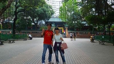香港 天后廟、初夏の季節
