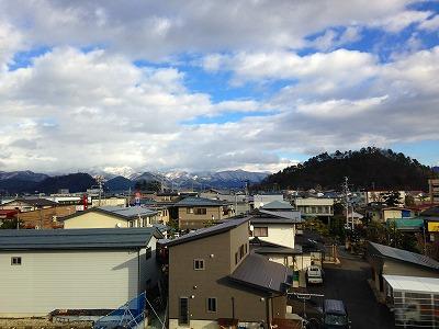 大森山と若木山