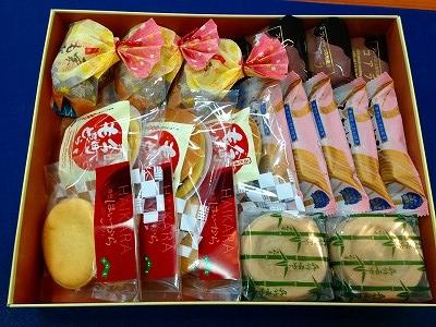 小松屋さんのお菓子