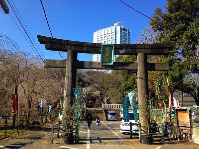 東京増上寺の隣の東照宮