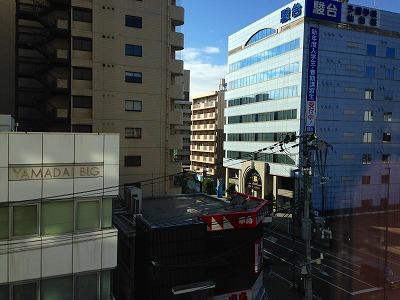 仙台市のビルの眺めです