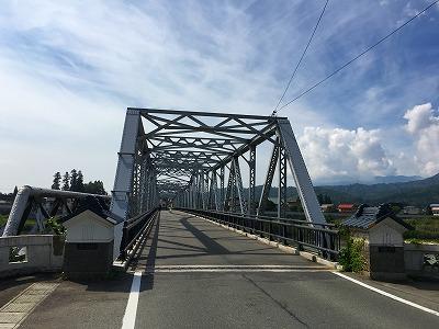 最上川にかかる橋