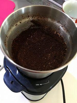 ラッセル・ホブスのコーヒーグラインダー