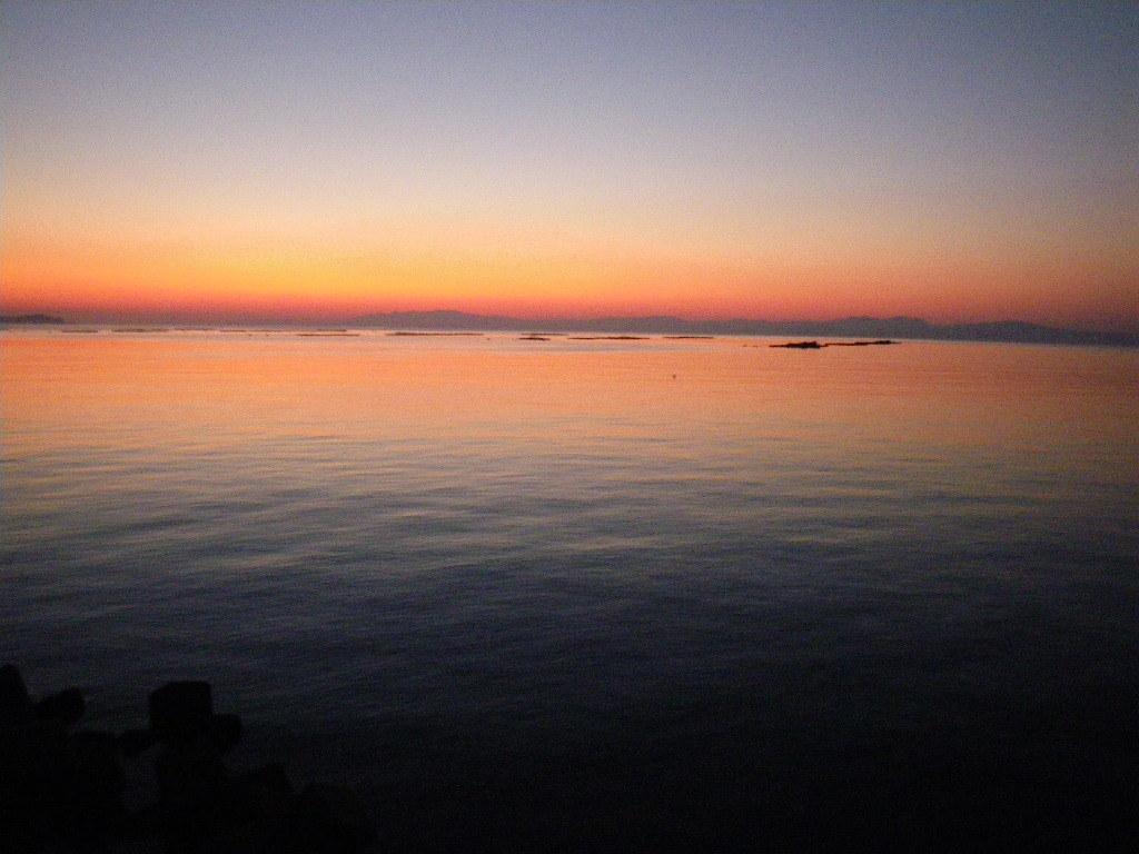 小浜の夕焼け