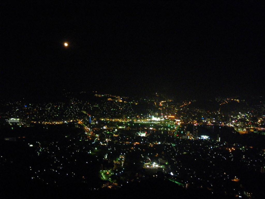 長崎稲佐山から見た1000万ドルの夜景