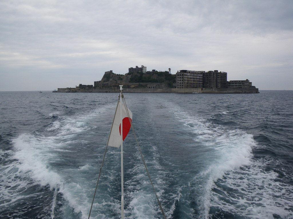 軍艦島です