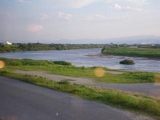 最上川の眺め