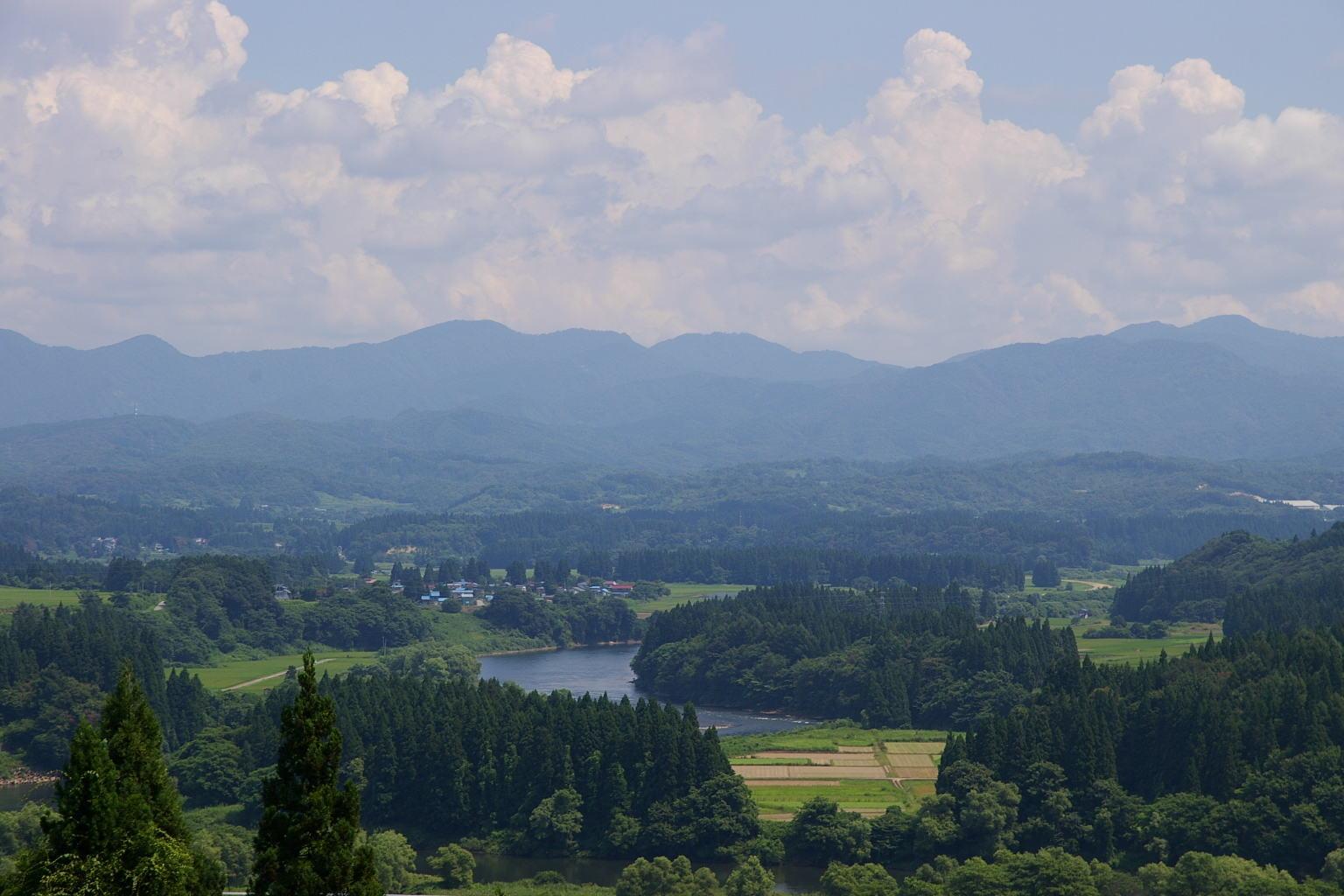 大石田 天空の眺め