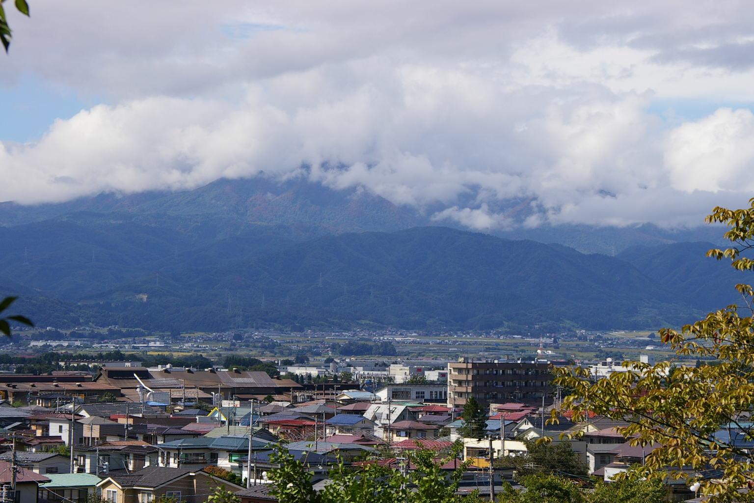 葉山の眺め