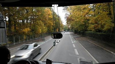フランスパリ ベルサイユ宮殿からの帰り道