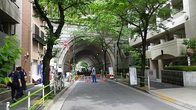 愛宕神社トンネル
