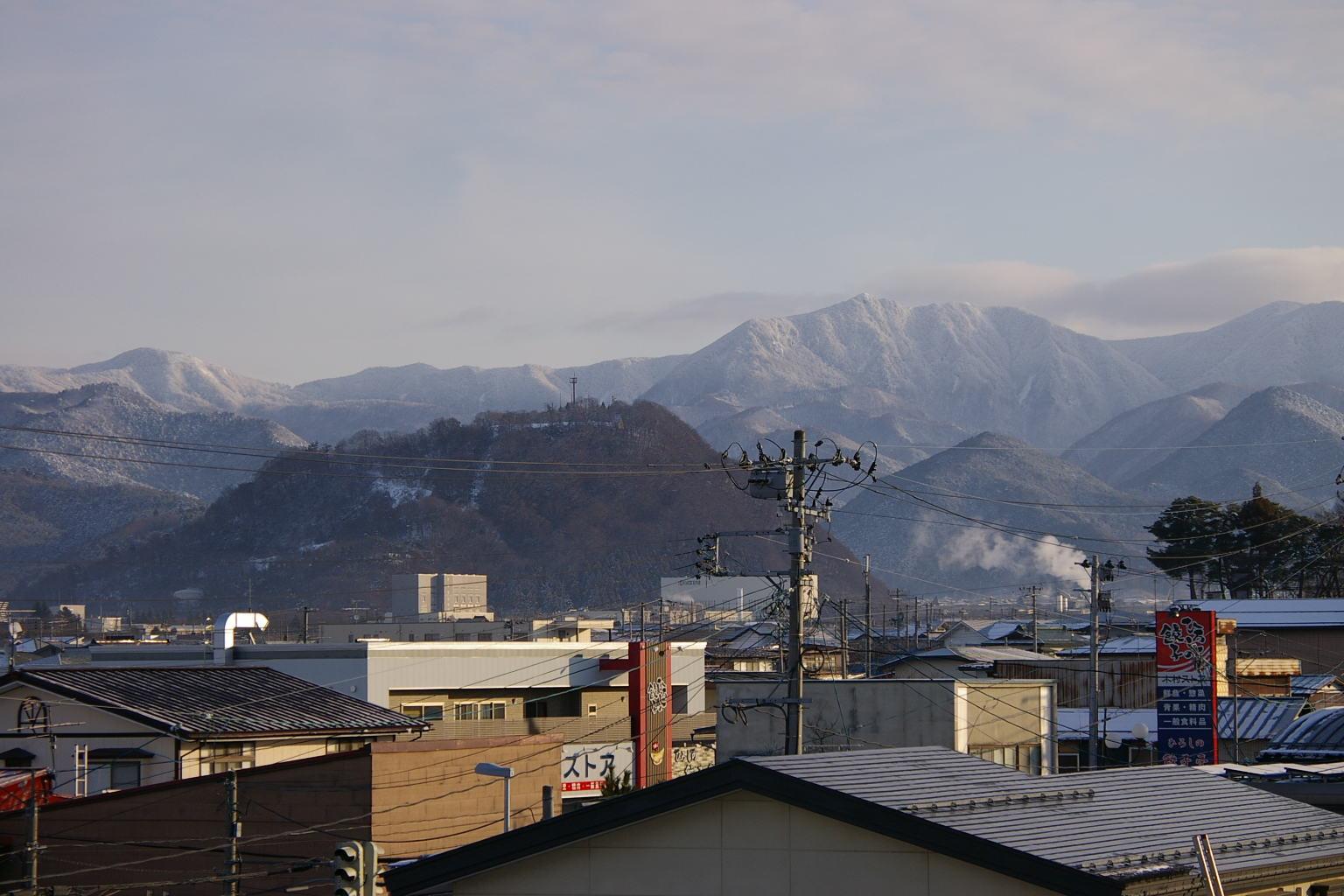 大森山の眺め