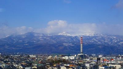 山形新幹線つばさからの車窓の風景
