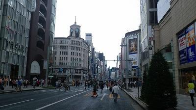 東京銀座の歩行者天国