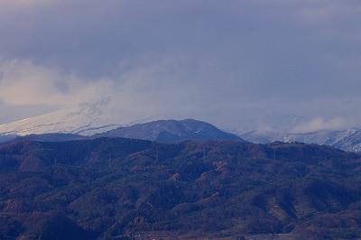 月山はこの日は雲隠れでした。