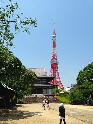 増上寺では徳川魂も感じてきました。