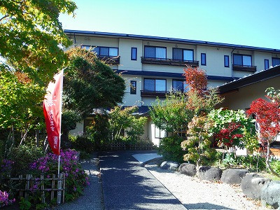 会場となった山形県東根市のさくらんぼ東根温泉です。