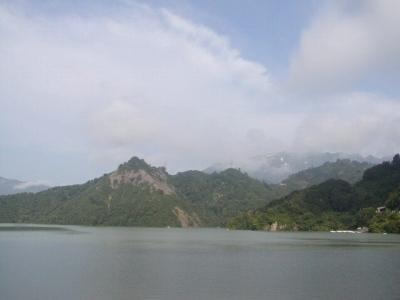7月16日撮影の田子倉湖です。
