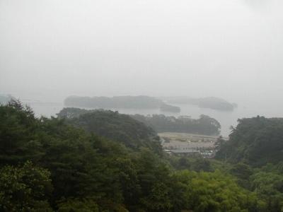 ホテル松島大観荘の部屋からの眺めです