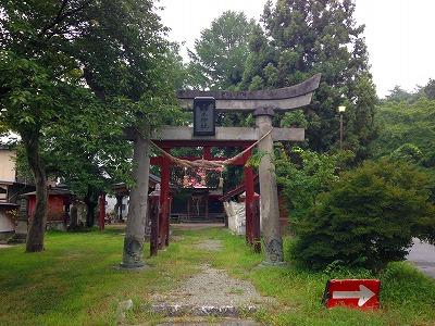 若木神社 夏