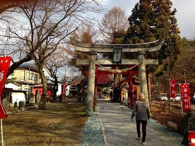 山形県東根市神町(ひがしねしじんまち)の若木神社(おさなぎじんじゃ)に妻と初詣に行きました。<br />