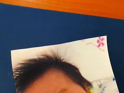 赤ちゃん髪の毛ふさふさでした