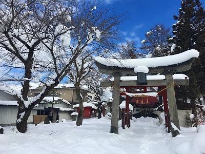 冬の若木神社