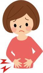 下腹部痛の画像
